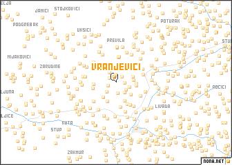 map of Vranjevići