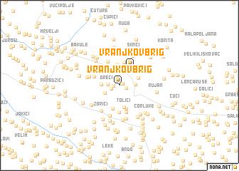 map of Vranjkov Brig
