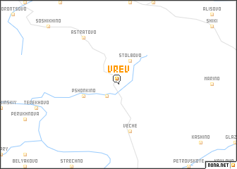 map of Vrev