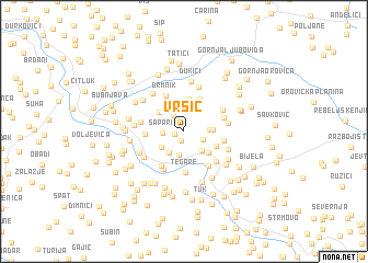 map of Vršić