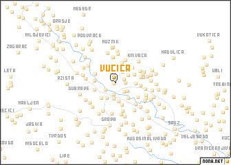 map of Vučica