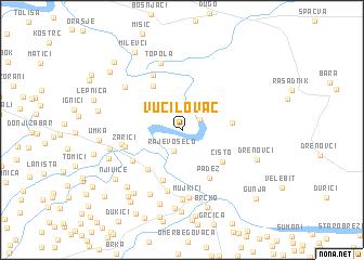 map of Vučilovac