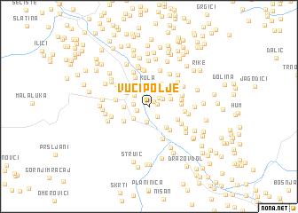 map of Vučipolje