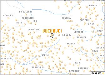 map of Vučkovci