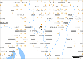 map of Vudjanuko