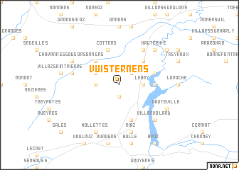 map of Vuisternens