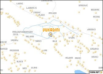 map of Vukadini
