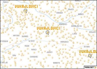 map of Vukajlovići