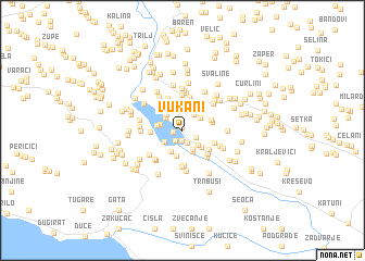 map of Vukani
