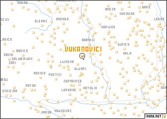 map of Vukanovići