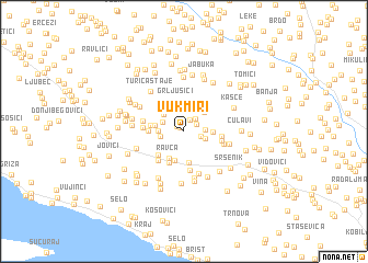 map of Vukmiri