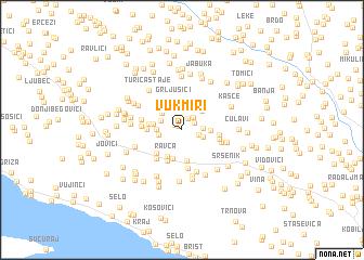 map of Vukmiri
