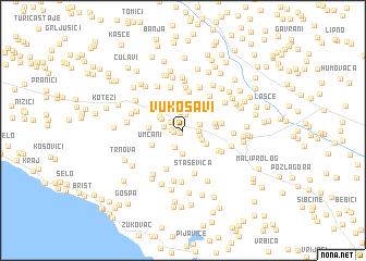 map of Vukosavi