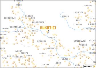 map of Vukotići
