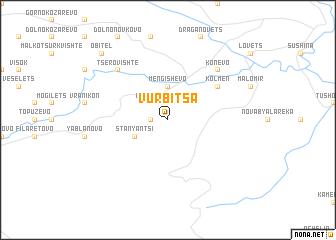 map of Vŭrbitsa