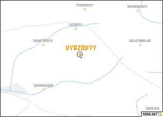 map of Vyazovyy