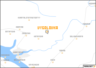 map of Vygolovka