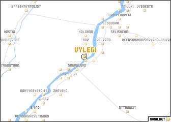 map of Vylegi