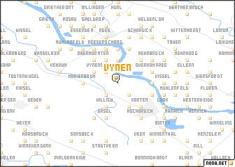 map of Vynen