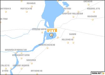 map of Vyya