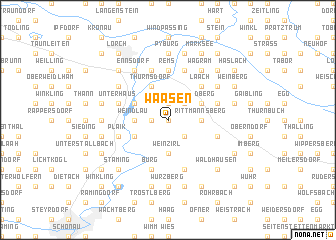 map of Waasen