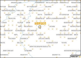 map of Waasen