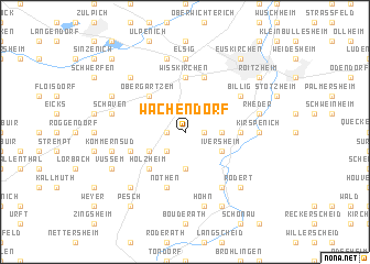 map of Wachendorf