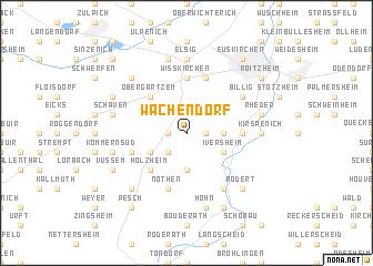 map of Wachendorf