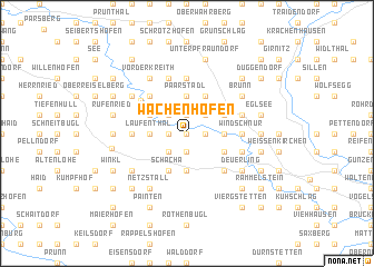map of Wachenhofen