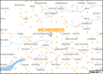 map of Wachsenberg