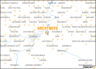 map of Wachtberg