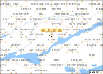 map of Wackerade
