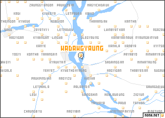 map of Wadawgyaung