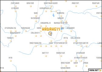 map of Wadawgyi