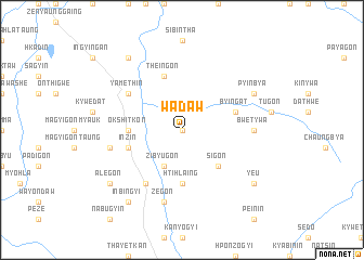 map of Wadaw