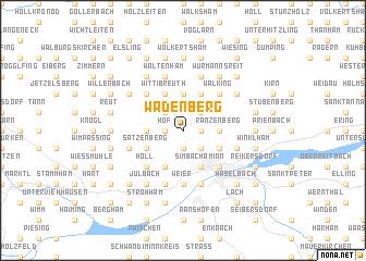 map of Wadenberg