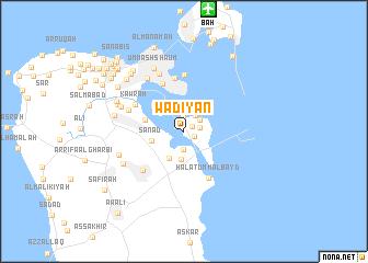 map of Wādiyān