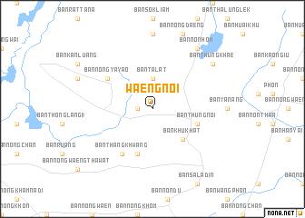 map of Waeng Noi