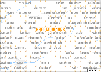 map of Waffenhammer