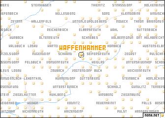 map of Waffenhammer