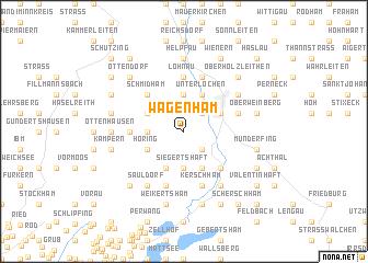 map of Wagenham