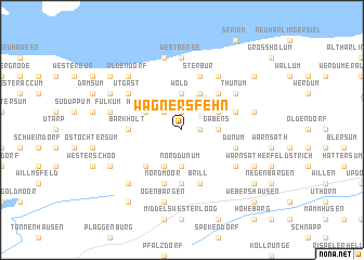 map of Wagnersfehn