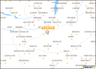 map of Wagowo