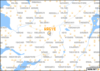 map of Wagye