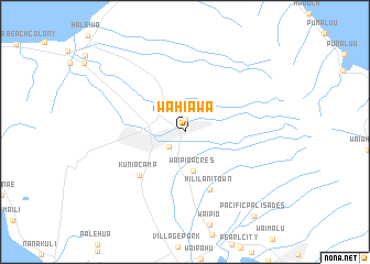 Wahiawa United States USA map nonanet
