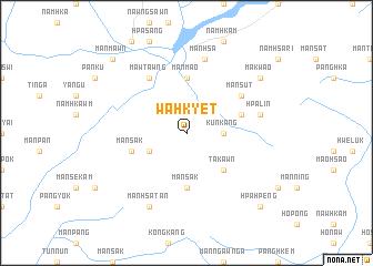 map of Wa-hkyet