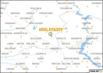 map of Wahlendorf