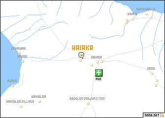 map of Waiaka