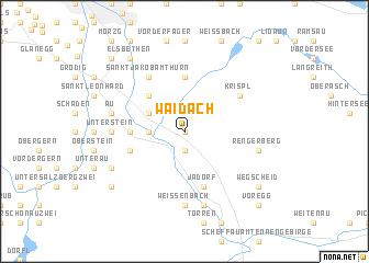 map of Waidach