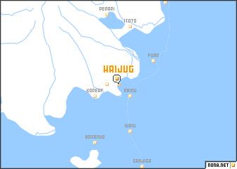 map of Waijug